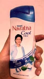 Navratna I Cool Talc -Controls sweat and body odor-By riya_neema