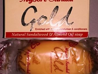 Mysore Sandal Gold Soap pic 1-Contains pure sandalwood oil-By riya_neema
