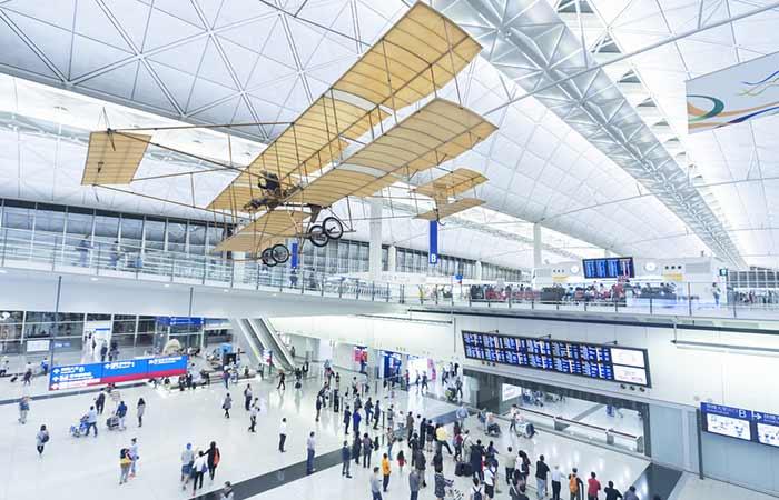 #4 – Hong Kong International Airport