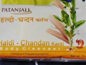 Patanjali Haldi Chandan Kanti Body Cleanser pic 1-Perfect for daily use-By ranjani