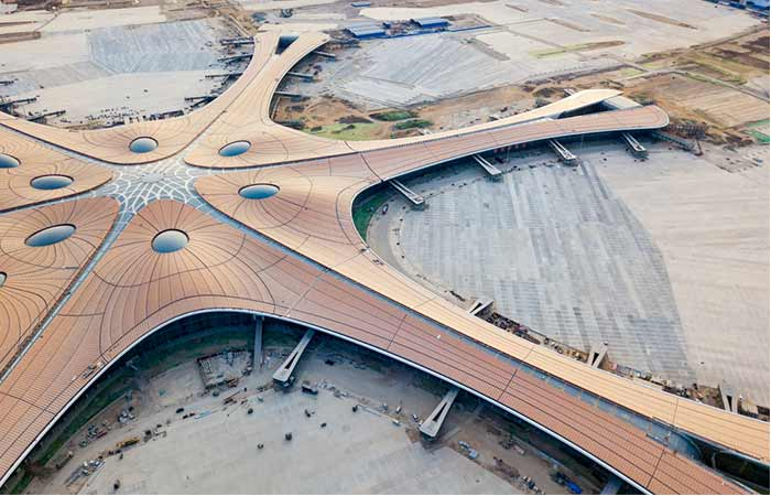 #5 – Daxing International Airport, Beijing, China