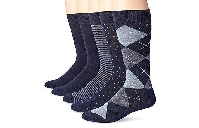 5-Pack Dress Socks