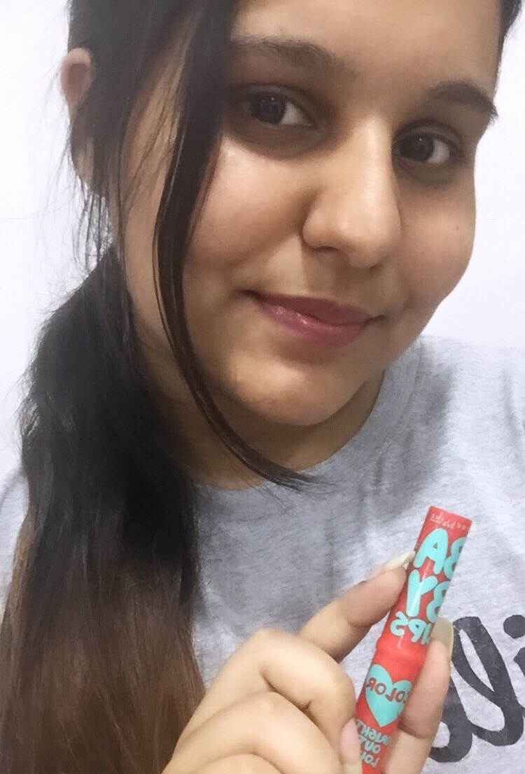 Maybelline Baby Lips Bright Out Loud Lip Balm-Pretty good-By @bhavikaaramani