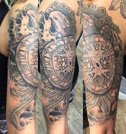 6. Japanese Turtle Tattoo
