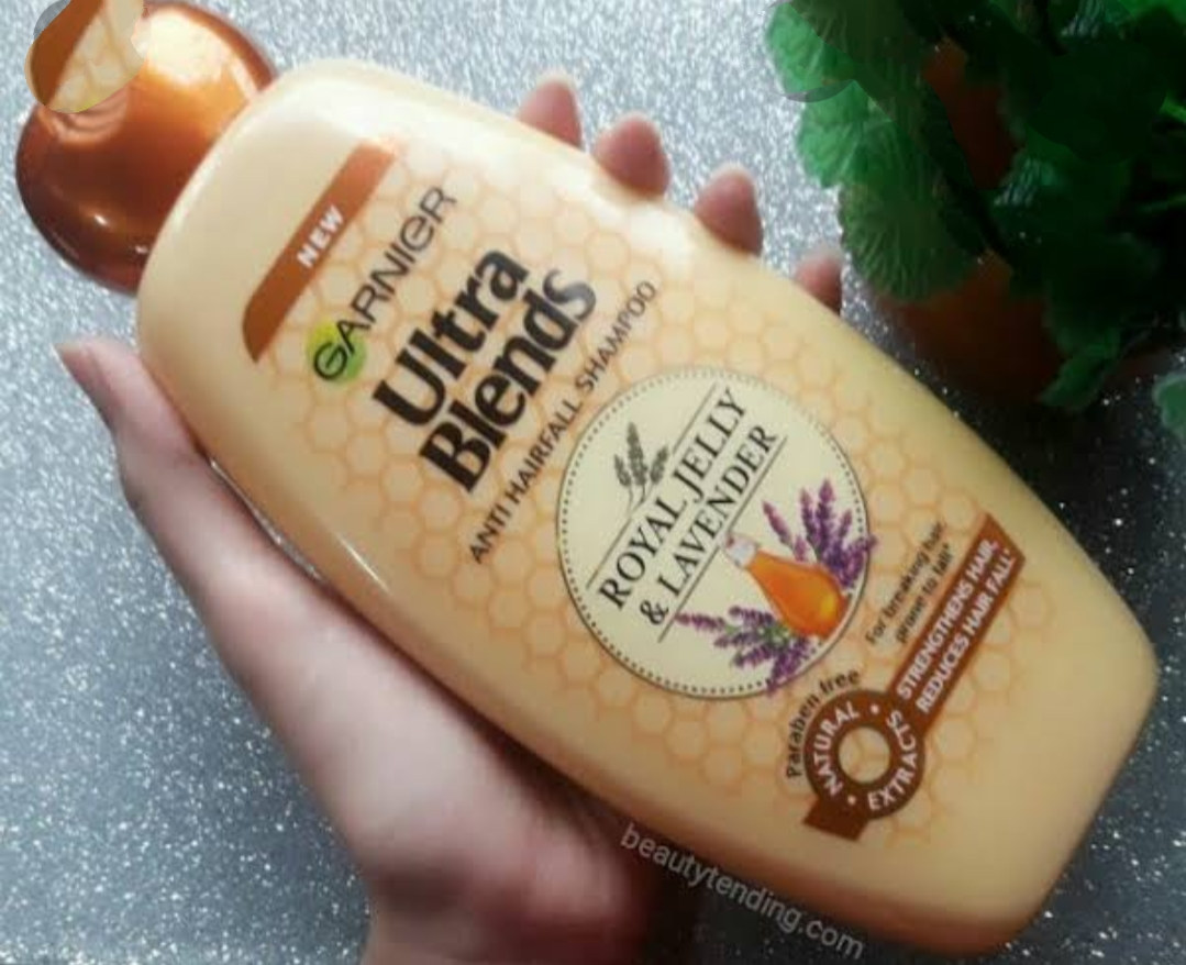 Garnier Ultra Blends Anti Hairfall Shampoo Royal Jelly & Lavender pic 1-Instant results from first wash !!-By ranjani