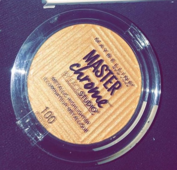 Maybelline Facestudio Master Chrome Metallic Highlighter-Best Highlighter ever-By @bhavikaaramani