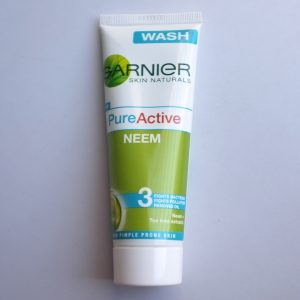 Garnier Skin Naturals Pure Active Neem Face Wash pic 2-Not recommended-By Samidha_Mathur