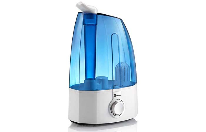 8. TaoTronics Ultrasonic Cool Mist Humidifiers