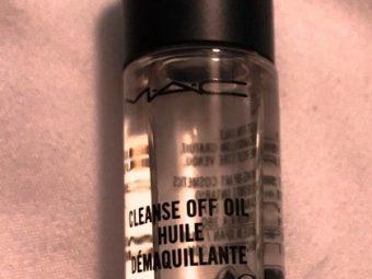MAC Cleanse Off Oil pic 1-Natural oils formulation-By riya_neema
