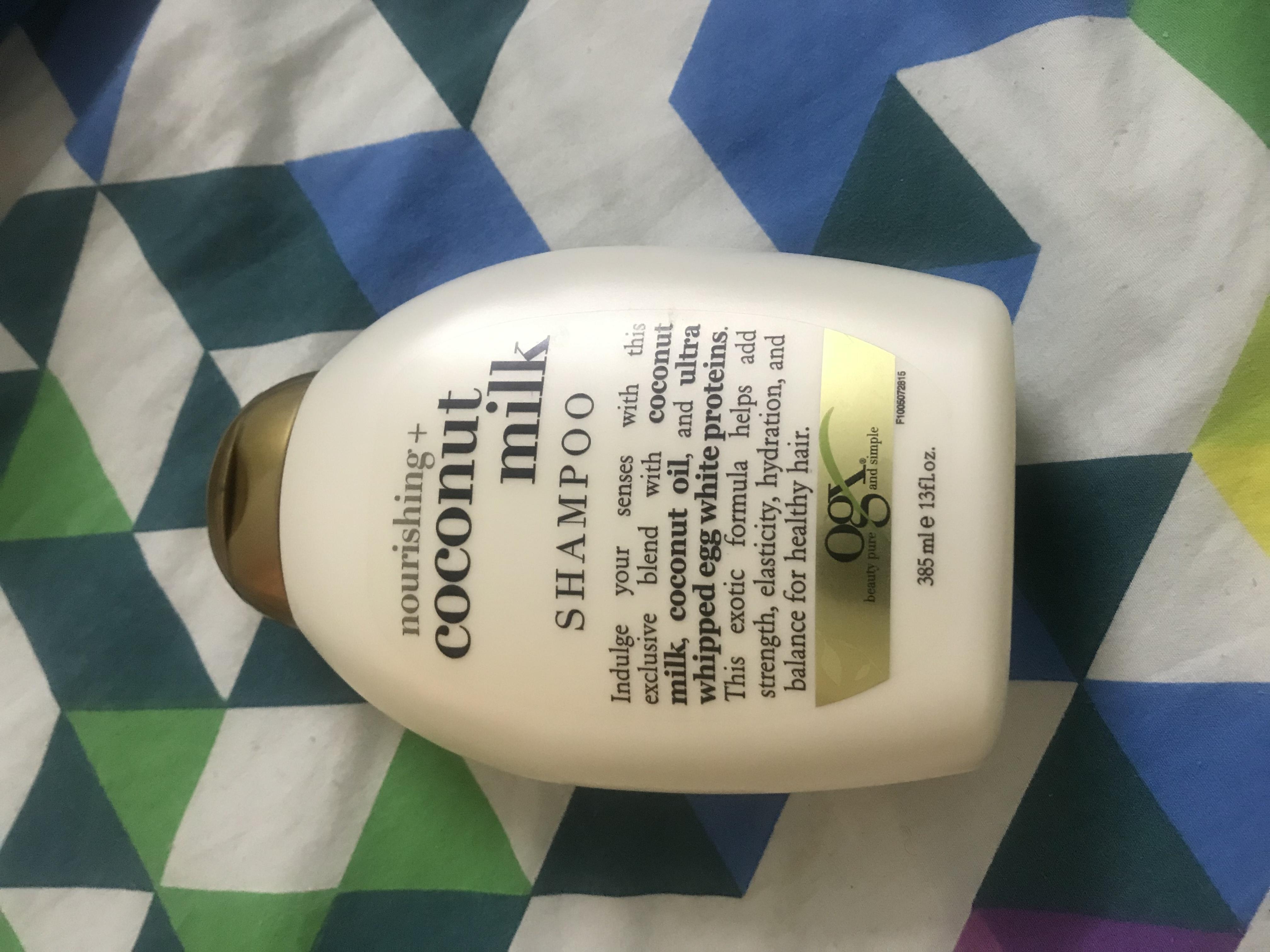 OGX Nourishing Coconut Milk Shampoo-Best !-By kiranbir_