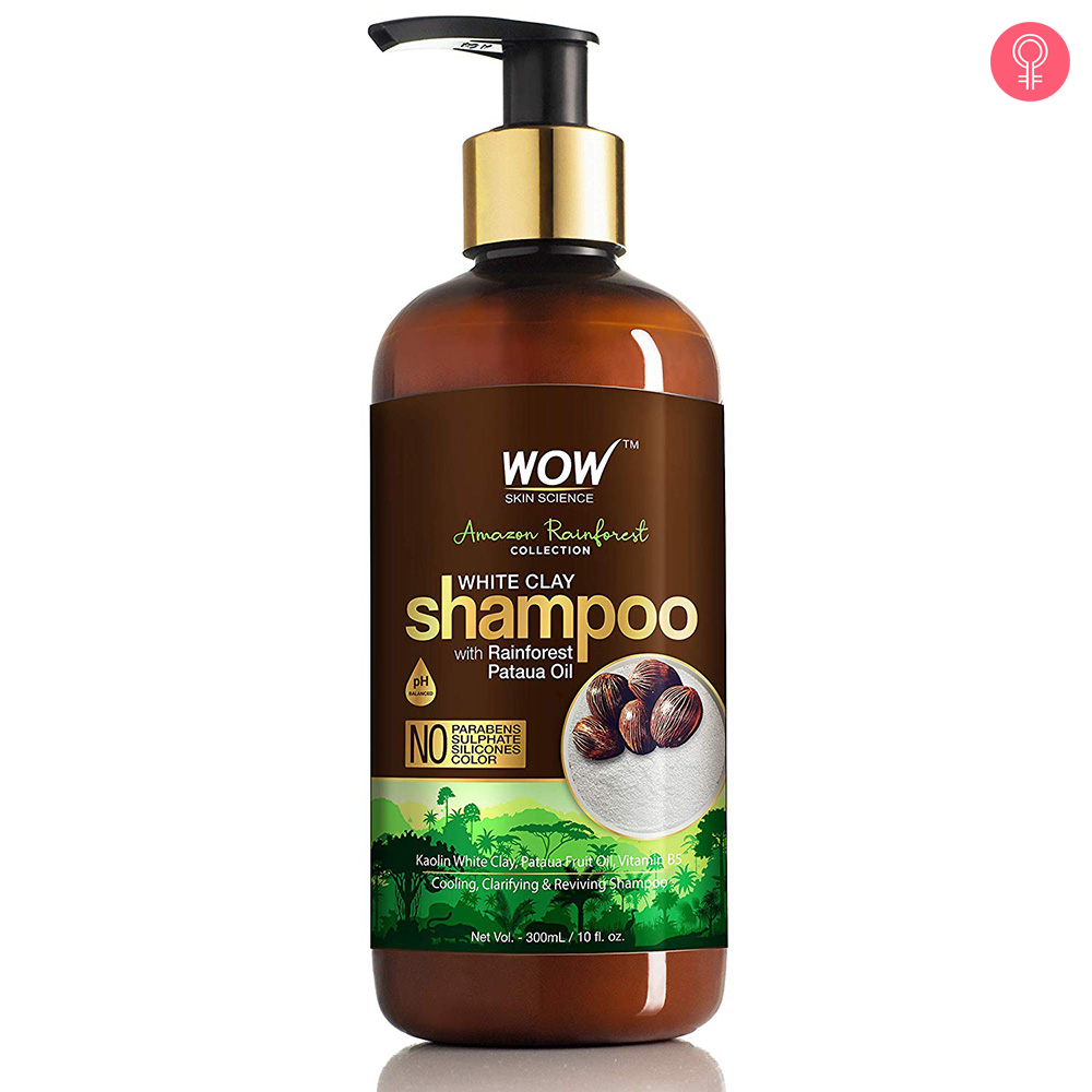 WOW Skin Science Amazon Rainforest White Clay Shampoo