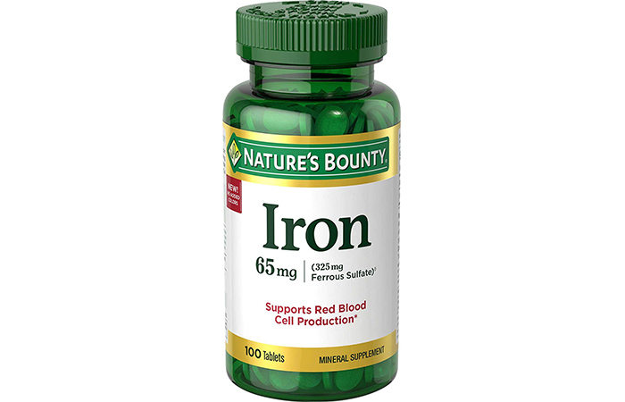 Best Budget: Nature's Bounty Iron Supplements