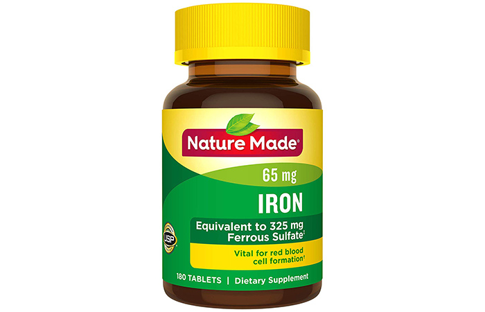 Best For Pregnant Women: Nature Made Iron