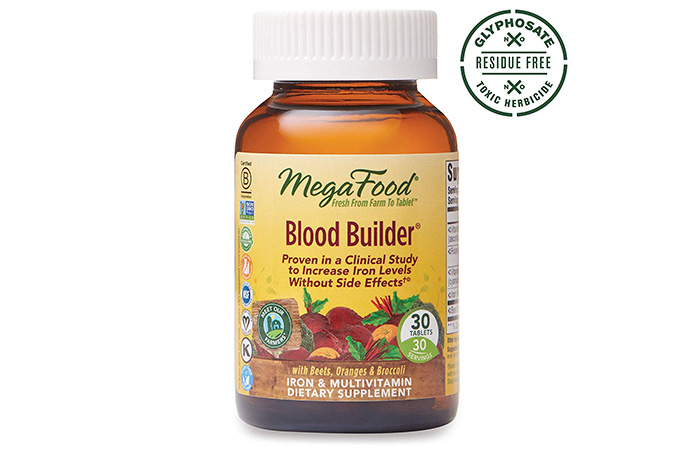 Best Overall MegaFood Blood Builder
