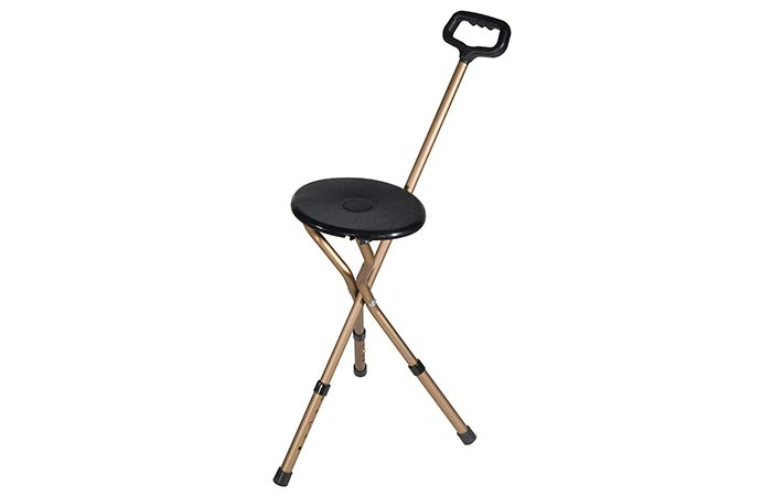 Best Seat Cane Drive Medical Folding Cane Seat