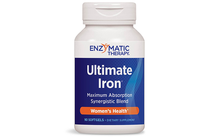 Best for Women: Enzymatic Therapy Ultimate Iron Supplement