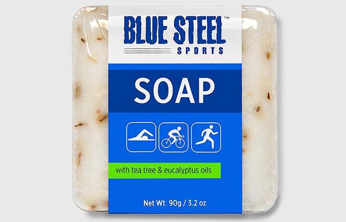 Blue Steel Sports Soap