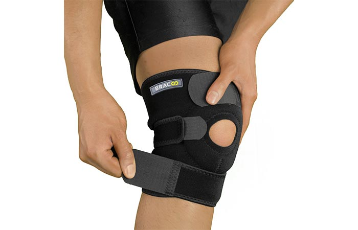 Bracoo Knee Support, Open-Patella Brace