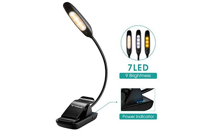 Clip-On Reading Light