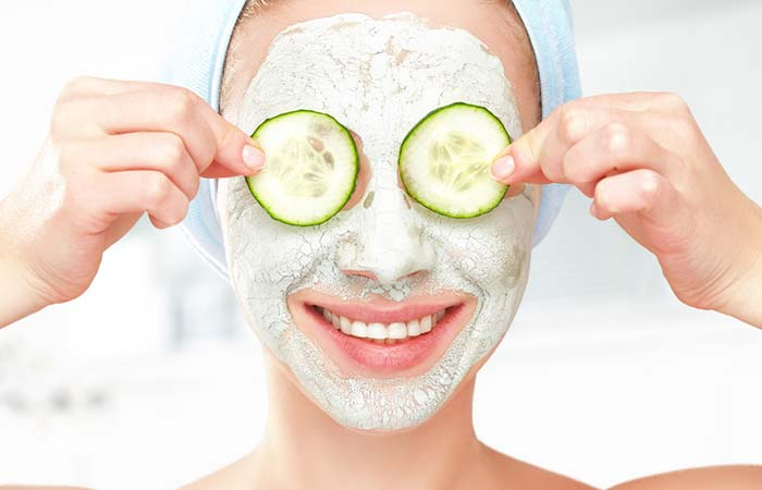 Cucumber Facepack