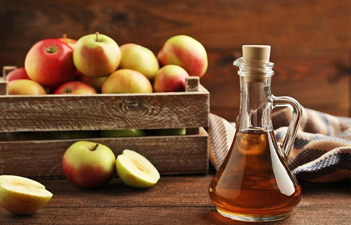 Cure fever with apple cider vinegar