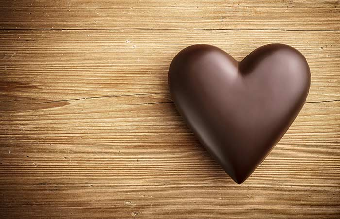 Dark chocolate for heart