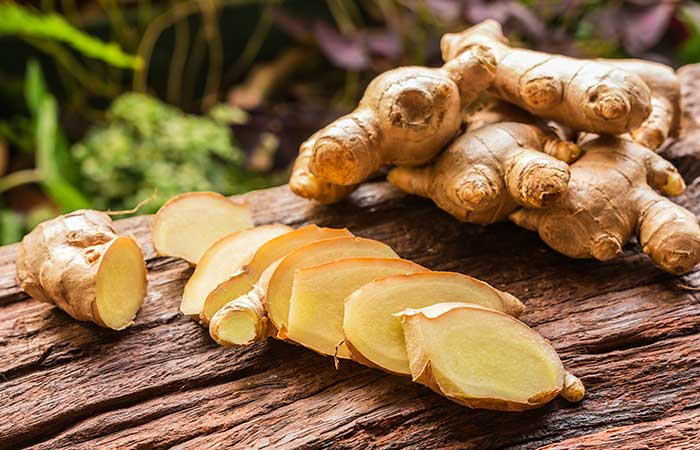 Domestic solution to fever with ginger