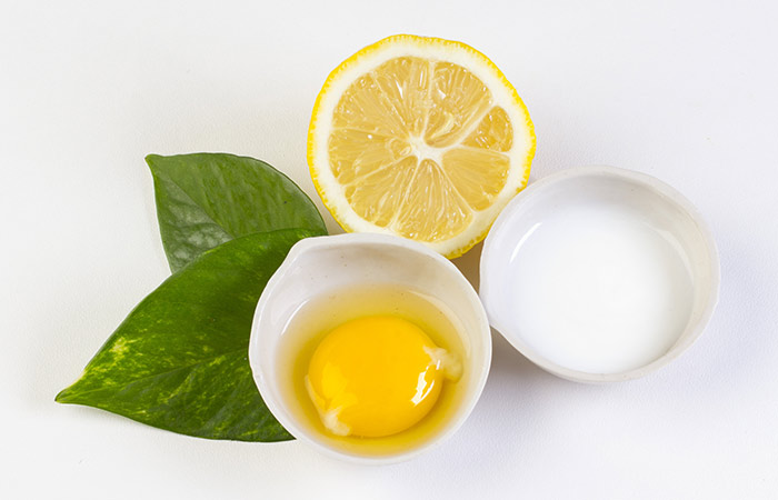 Egg Whites And Lemon Juice