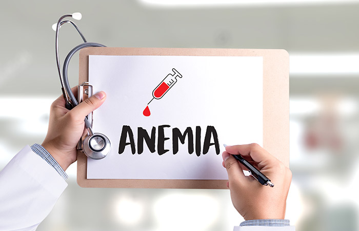 Folic acid for anemia
