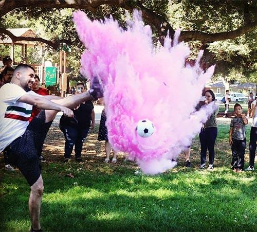 Football Gender Reveal