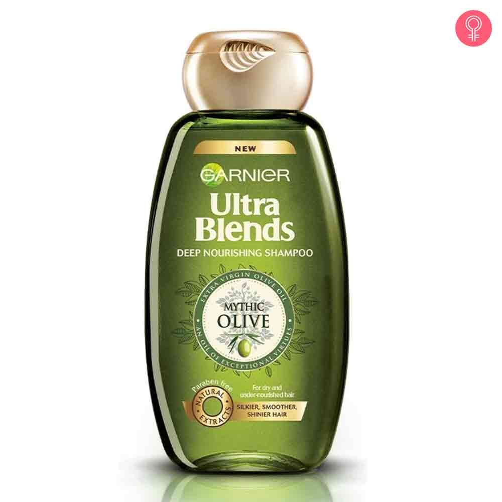 Garnier Ultra Blends Mythic Olive Deep Nourishing Shampoo