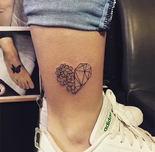 Geometric Or Flower Heart Both!