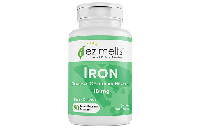 Great-Tasting: EZ Melts Iron Dissolvable Vitamins