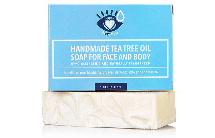 Heyedrate Handmade Tea Tree Oil Soap For Face And Body