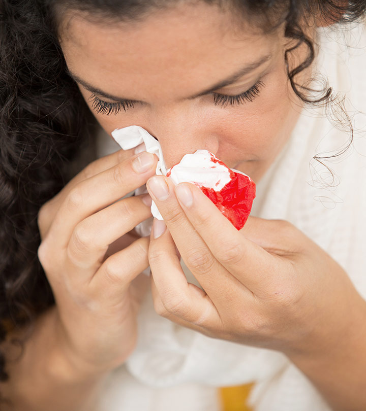 Home Remedies To Stop Nose Bleeding in Hindi