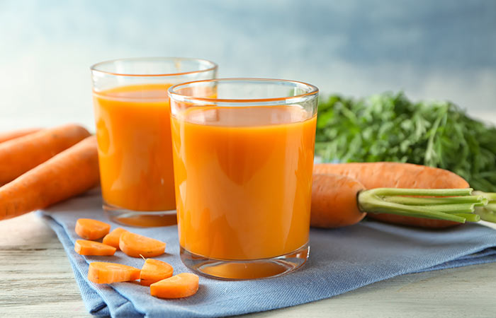How to prepare carrot juice at home