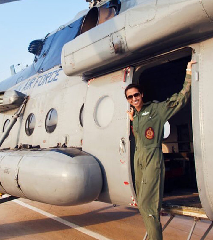 IAF Officer Shaliza Dhami Becomes India's First Woman Flight Commander