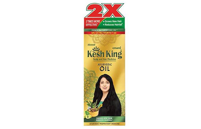 Kesh King Scalp And Hair Ayurvedic Medicinal Oil
