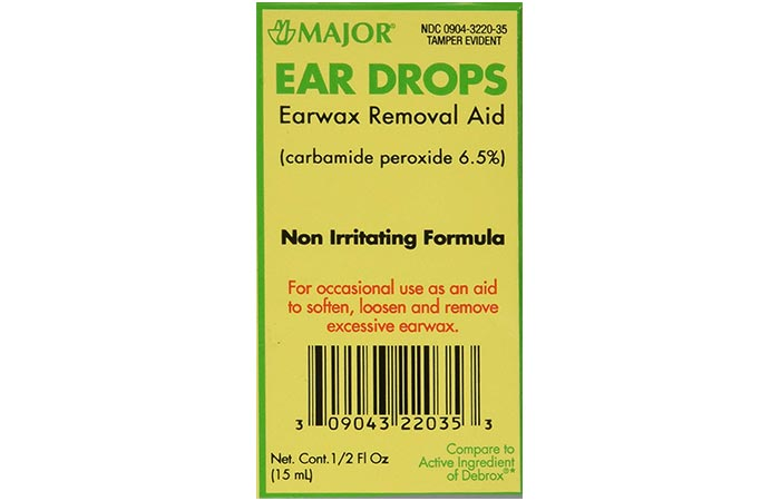 Major Earwax Removal Ear Drops