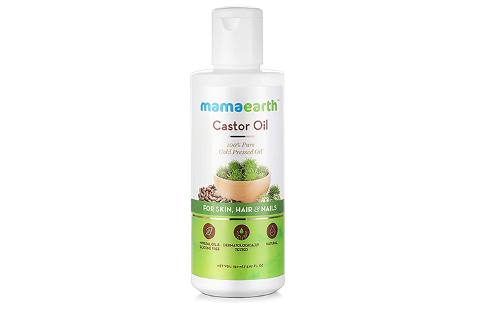 Mamaarth Castor Oil