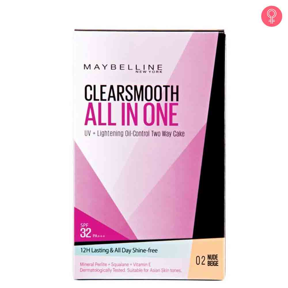 Maybelline Clear Smooth All In One Two Way Cake