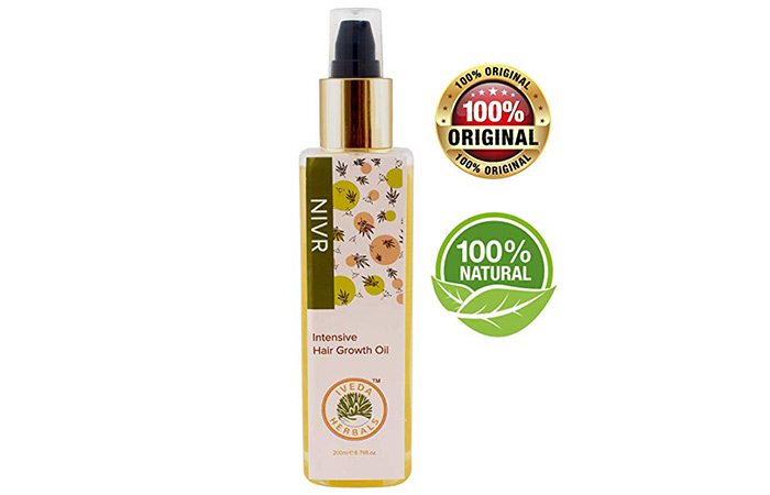 Nivr Intensive Hair Growth Oil