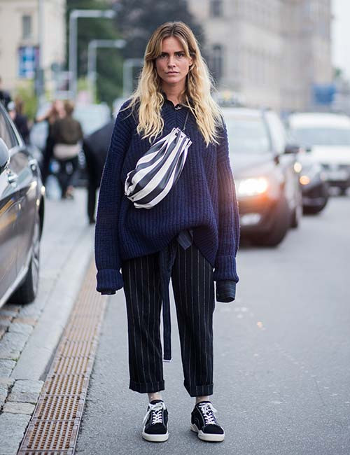 Oversized Sweaters On Leggings