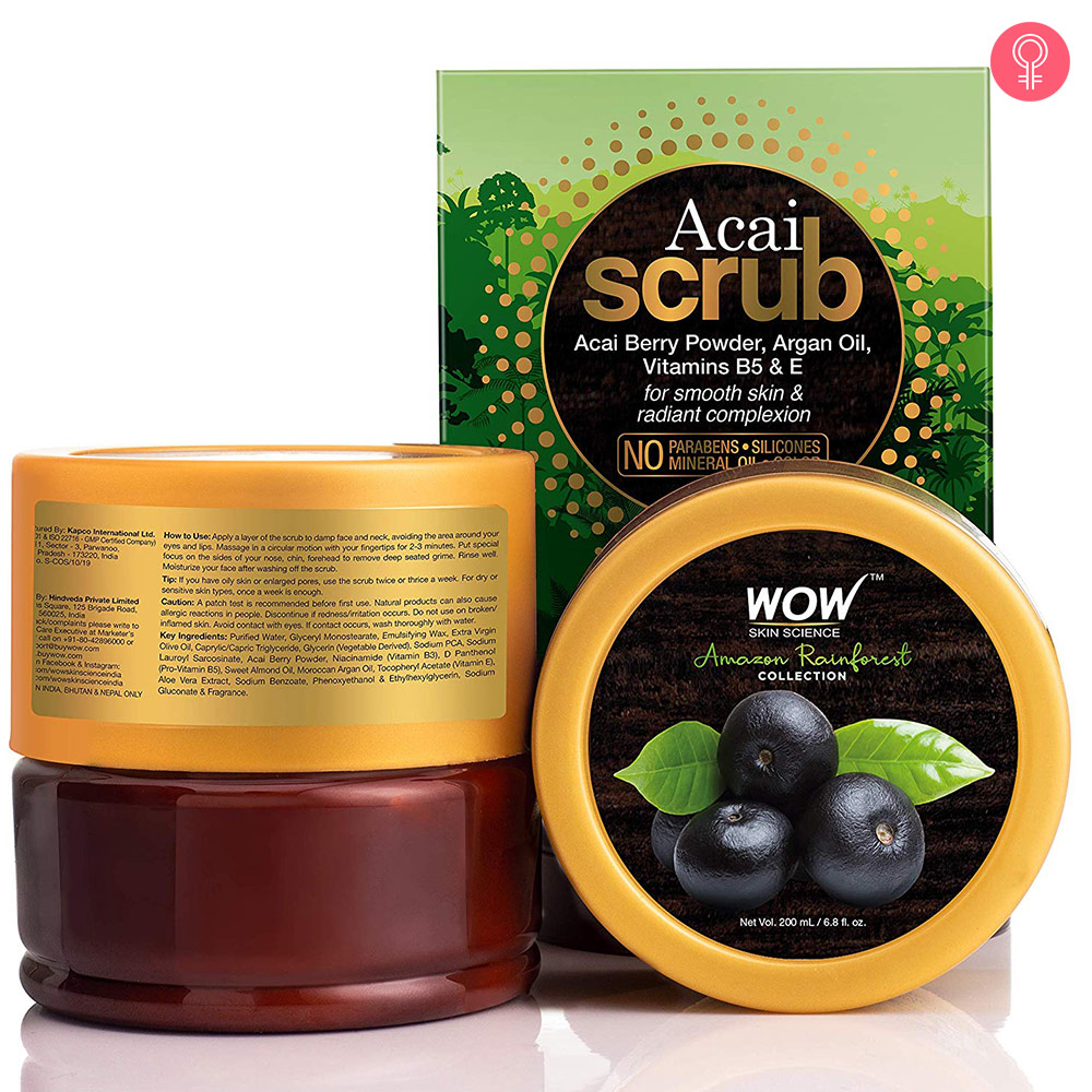 WOW Skin Science Amazon Rainforest Acai Scrub