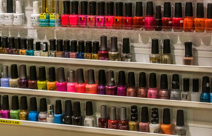Store Your Nail Polish Properly