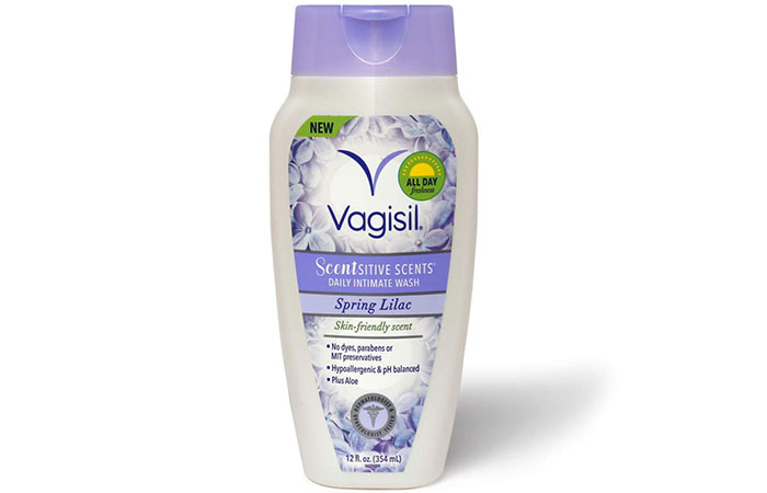 Vagisil Scentsitive fragrances Daily Intimate Wash