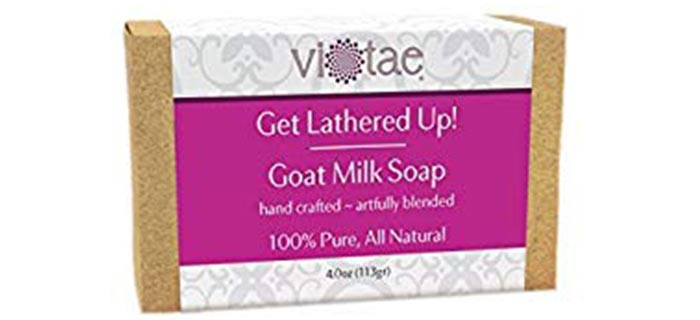 Vi-Tae Get Lathered Up! Goat Milk Soap