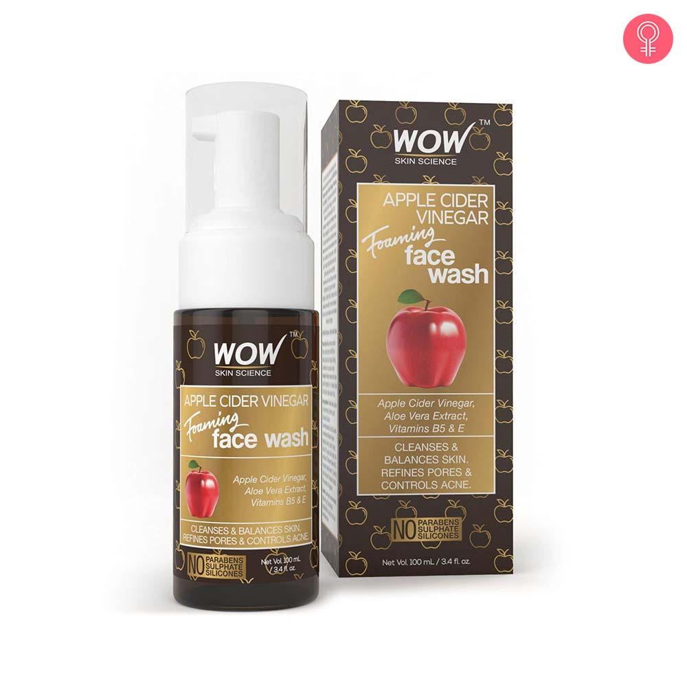WOW Skin Science Apple Cider Vinegar Face Wash