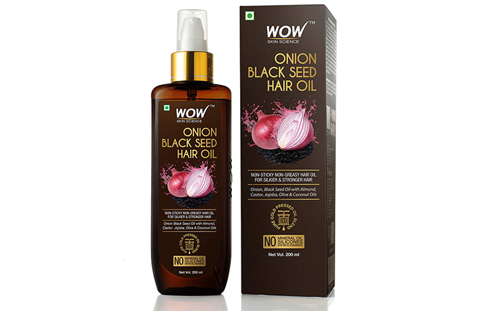 Wao Skin Science Onion Black Seed Hair Oil