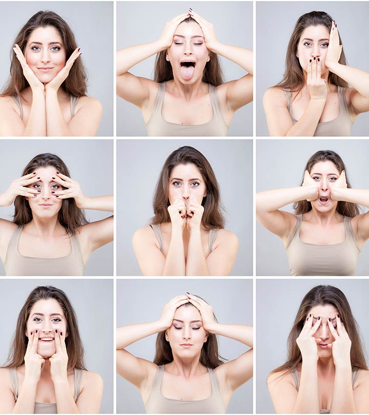 Yoga For Slimming Face in Hindi